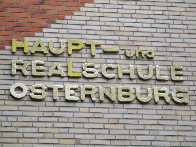 Schild Haupt Realschule Osternburg