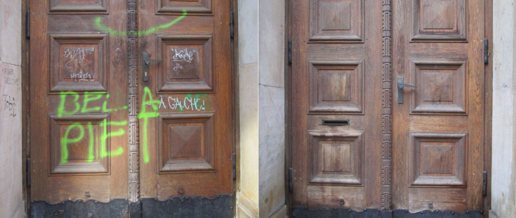 Graffitientfernung Bremen Oldenburg Denkmalpflege 01