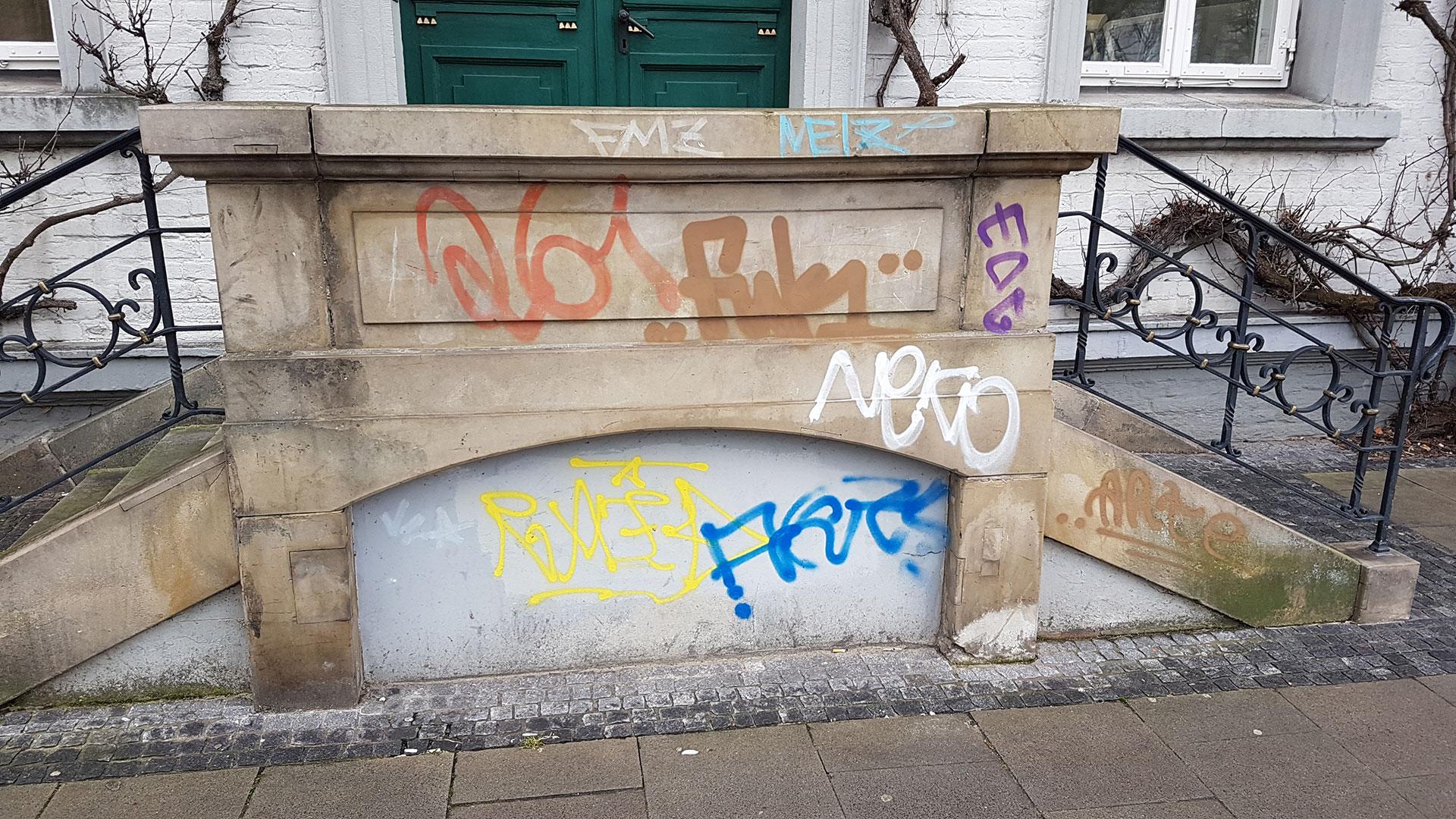 Graffitientfernung Oldenburg Bremen 003
