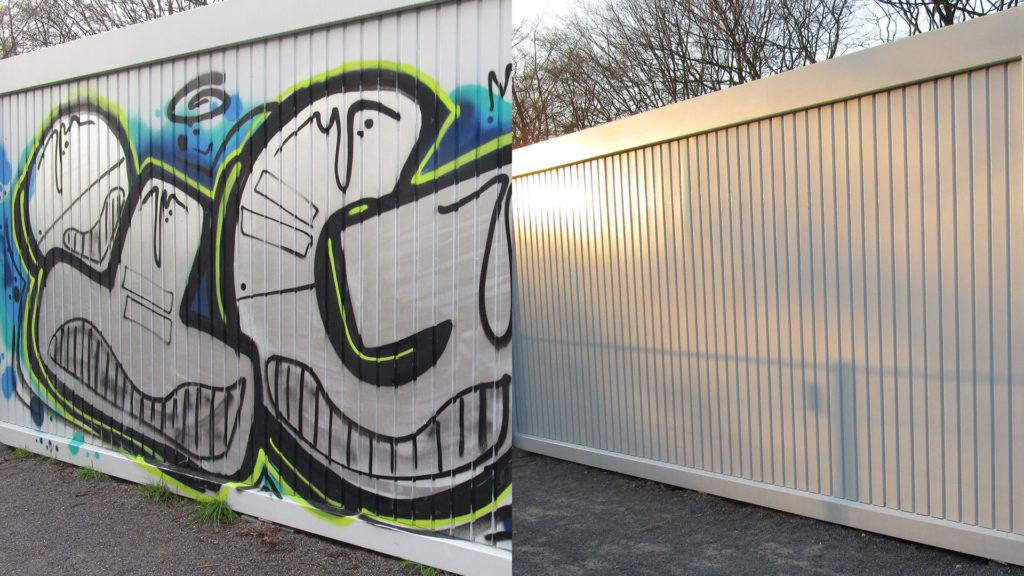 Graffitientfernung Oldenburg Bremen vorher nachher 003